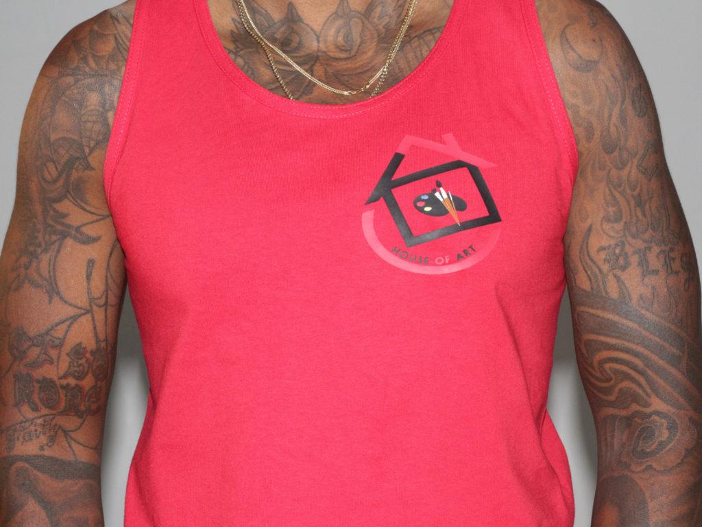 @HousOfArtAtl tank rojo | Designed x @priveapparel